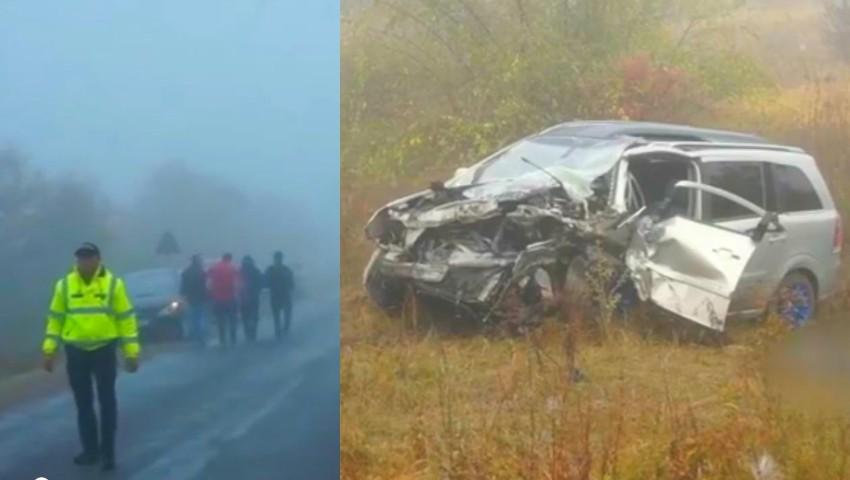 Video filmat în primele momente după producerea accidentului de la Căușeni