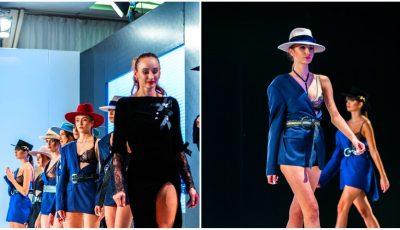 Noua colecție de pălării a creatoarei Iuliana Chiroșca a făcut senzație la cel mai grandios eveniment de modă de peste Prut, Romanian Fashion Philosophy!