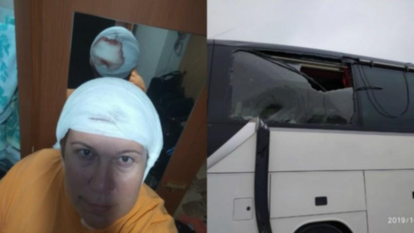 Foto: O femeie a fost rănită de coarnele unui troleibuz din Chișinău