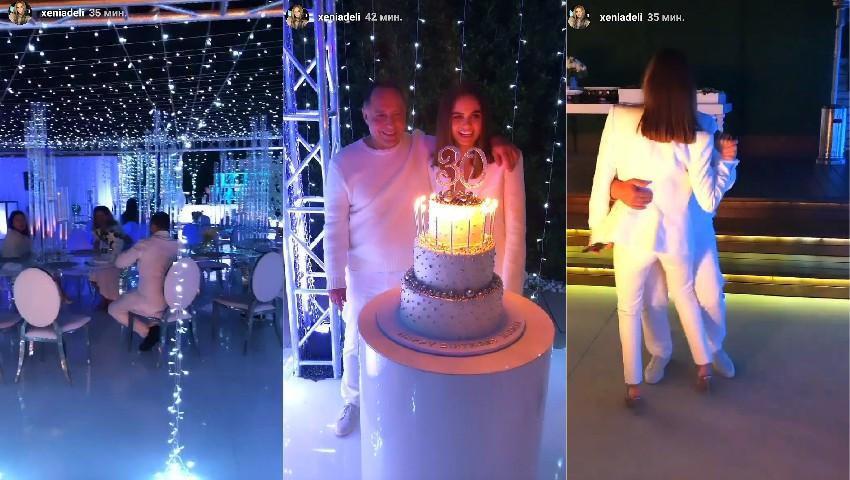 Foto: Xenia Deli a postat poze noi de la aniversarea fabuloasă de 30 de ani!