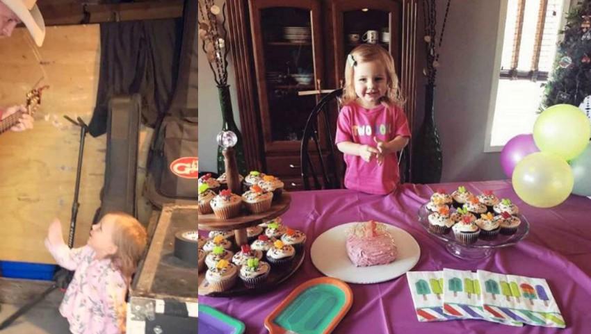 Foto: Fiica în vârstă de 2 anișori a unui artist american a murit asfixiată în casă. Mesajul tatălui