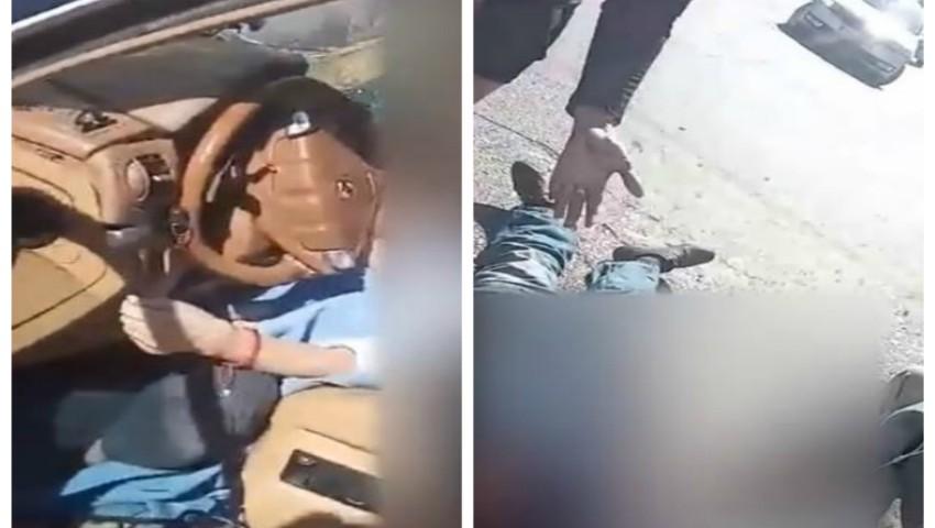 Foto: Video filmat în primele minute după producerea accidentului din sectorul Buiucani. Pasagerul șoferiței era în viață