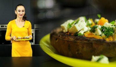 Încearcă și tu rețeta Iulianei Chiroșca! Cartofi dulci cu pătrunjel și telemea