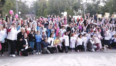 """Maratonul de caritate """"RACE for the CURE"""" – premieră pentru Moldova!"""
