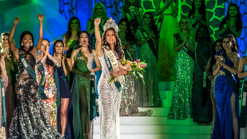 """Foto: Iată cine este tânăra care a câștigat titlul """"Miss Earth 2019""""!"""