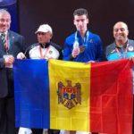 Foto: Tânărul halterofil Marin Robu a devenit vicecampion european printre juniori