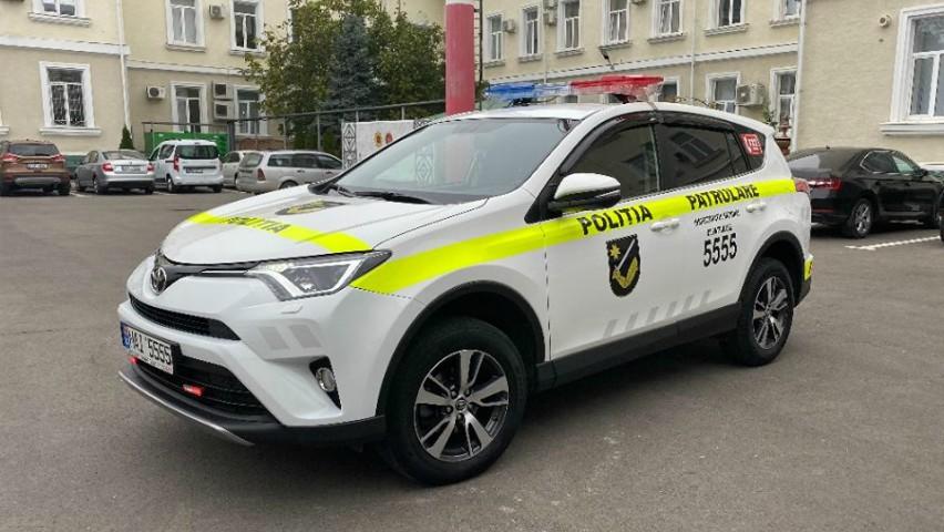 Foto: Mașina șefului Inspectoratului Național de Patrulare, de acum încolo, va fi folosită în serviciul cetățenilor