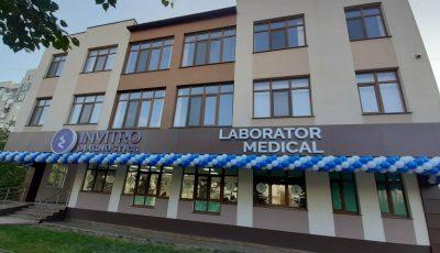 Laboratorul medical Invitro Diagnostics inaugurează astăzi o nouă filială în sectorul Ciocana