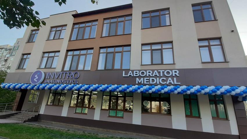 Foto: Laboratorul medical Invitro Diagnostics inaugurează astăzi o nouă filială în sectorul Ciocana