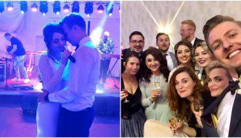Emoții mari și veselie la nunta interpretei Anastasia Jantîc. Cine sunt vedetele care au dat tonul petrecerii!