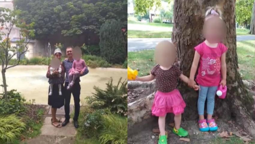 Foto: Clipe de coșmar pentru un cuplu de moldoveni, stabilit în Franța. Autoritățile le-au luat cei doi copii