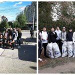 """Foto: Să facem curățenie înainte de Ziua orașului! Tinerii de la ,,Hai Moldova"""" vă așteaptă în Parcul """"La Izvor"""" și la râul Bâc, pe strada Petru Rareș"""