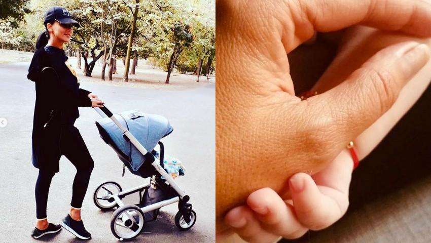Foto: Mesajul emoționant postat de Lavinia Pîrva pentru fiul ei