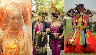 Cum arată rochiile tradiționale de mireasă în diferite țări ale lumii. Foto!