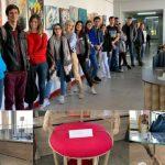 Foto: Ingenios! Studenții de la arhitectură au realizat piese de mobilier din materiale reciclabile