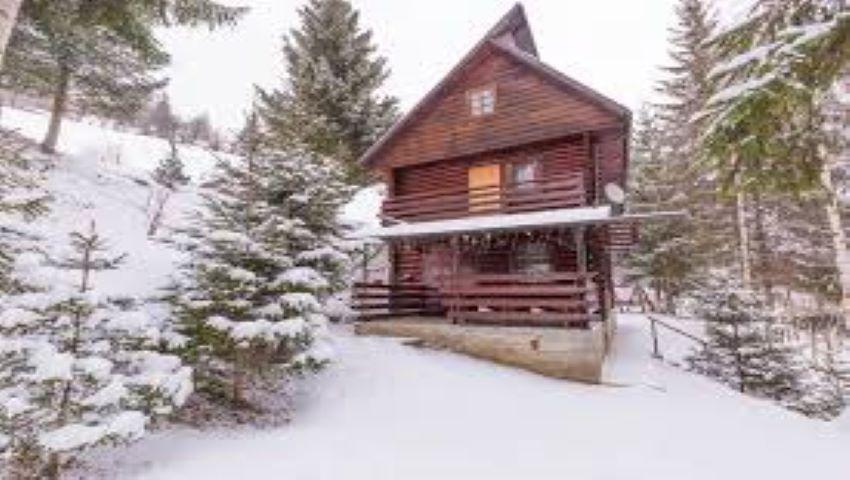 Foto: A venit iarna. Aproape de Moldova ninge ca-n povești