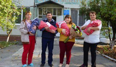 Emoții mari! O femeie din Măgdăcești a adus pe lume cvadrupleți