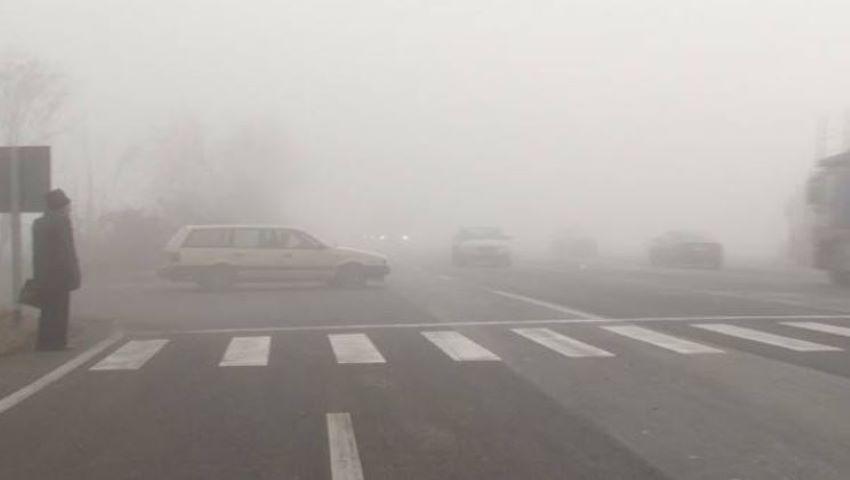 Foto: Atenție, e ceață! INP: anunț pentru șoferi și pietoni