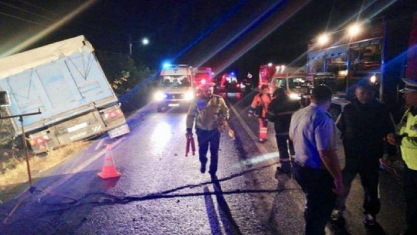Foto: Opt mame au murit într-un cumplit accident produs în Ialomița, România