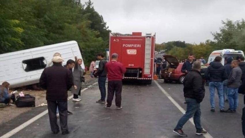 Foto: Poliția oferă detalii despre accidentul grav de pe traseul Chișinău- Hâncești