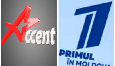 """Postul de televiziune Accent TV și-a schimbat denumirea și va retransmite conținutul """"Pervîi Kanal"""""""