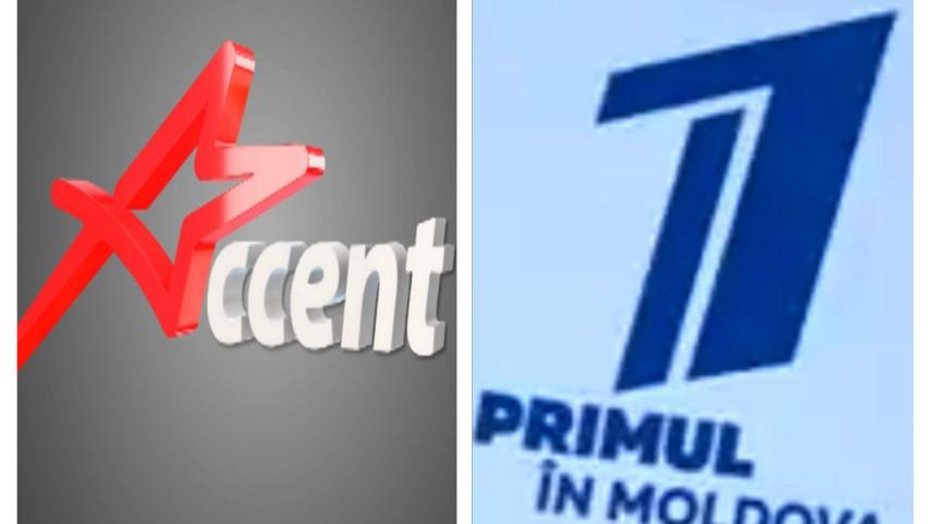 """Foto: Postul de televiziune Accent TV și-a schimbat denumirea și va retransmite conținutul """"Pervîi Kanal"""""""