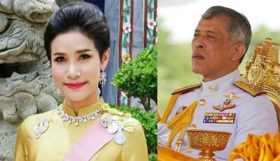 Fosta amantă a regelui Thailandei a fost umilită în public și alungată din țară