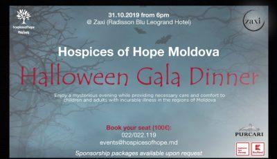 Sărbătoreşte Halloweenul altfel! Susţine bolnavii incurabili la Gala Anuală de Caritate