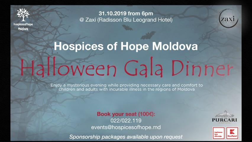 Foto: Sărbătoreşte Halloweenul altfel! Susţine bolnavii incurabili la Gala Anuală de Caritate