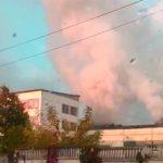 Foto: Incendiu de proporții în capitală. Mai multe echipaje ale pompierilor au fost trimise la faţa locului