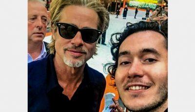 Moldoveanul care l-a întâlnit pe Brad Pitt la Londra, și-a inaugurat cea de-a 10-a expoziție de artă!