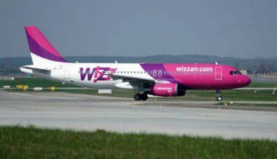 Compania low-cost Wizz Air lansează șase curse noi din Iași. Care sunt destinațiile?