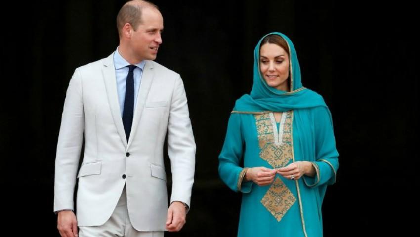 Foto: Panică la bordul aeronavei cu prinţul William și Kate, în Pakistan