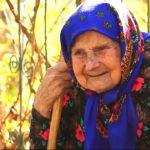 Foto: O bunicuță din Drochia împlinește astăzi 100 de ani. Femeia are o pensie de 205 lei