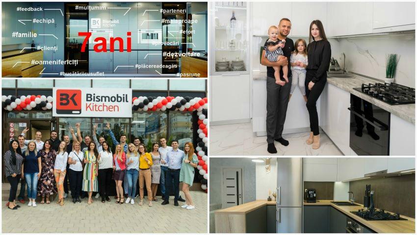 """Foto: Compania Bismobil Kitchen sărbătorește 7 ani de la fondare – ,,Mai aproape de oameni, pentru plăcerea de a găti acasă""""!"""