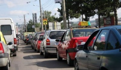 Atenționare pentru șoferi: în sectorul Buiucani nu vor funcționa astăzi 4 semafoare. Fiți prudenți!