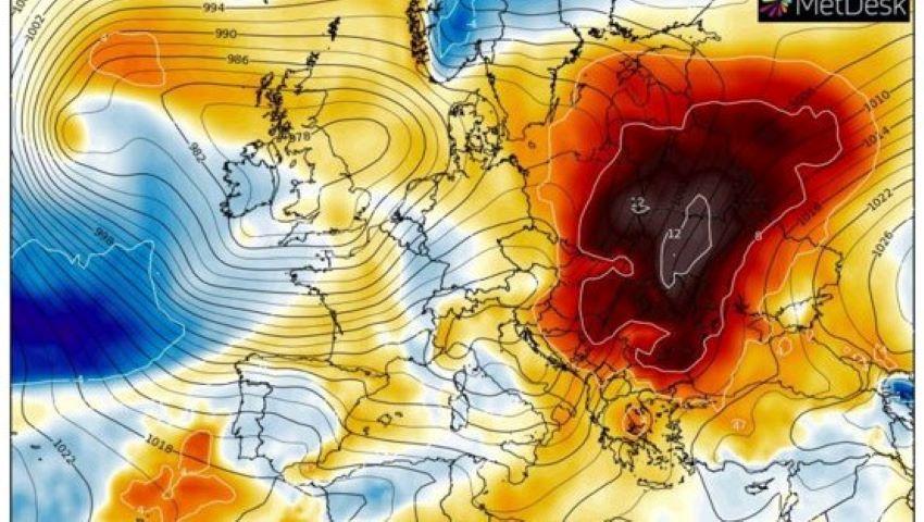 Foto: Alertă meteo! Val de aer tropical. Temperaturile ajung până la +25 de grade în Europa Centrală şi de Est