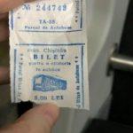 Foto: O poză cu un bilet de autobuz, la prețul de 8 lei, a devenit virală pe internet