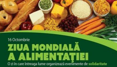 Astăzi marcăm Ziua Mondială a Alimentației!