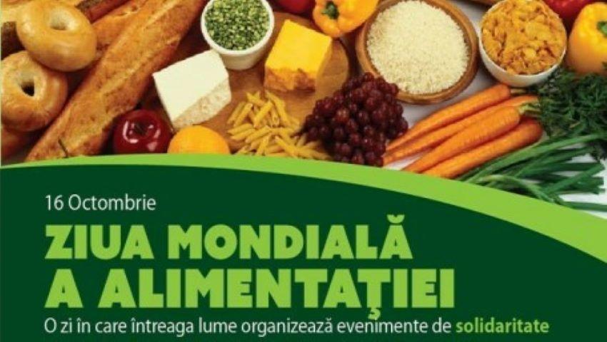 Foto: Astăzi marcăm Ziua Mondială a Alimentației!