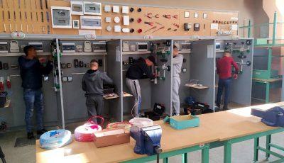 Minorii din penitenciarul Goian au susținut, în premieră, examenul pentru meseria de lăcătuș-electromontor la o școală din libertate