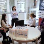 Foto: Un nou atelier alături de Ducray și Dr. Irina Batir, asistent universitar, medic tricolog-dermatolog