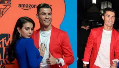Iubita lui Cristiano Rolando a făcut senzație la Gala Premiilor MTV! Vezi cum s-a afișat alături de celebrul fotbalist