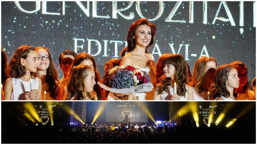 Foto: Zeci de copii vor rămâne în familii: 21.407 euro au fost adunați la Gala Generozității 2019