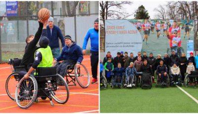 """Persoanele cu dizabilități locomotorii din municipiul Ungheni, susținute de către tinerii antreprenori din localitate în cadrul proiectului ,,Șanse egale pentru o viață activă"""""""