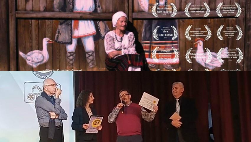 """Foto: Filmul ,,Călărași – un ținut la poarta raiului"""", în regia lui Dumitru Grosei, a obținut Marele Premiu la Festivalul Ethos Film Fest 2019"""