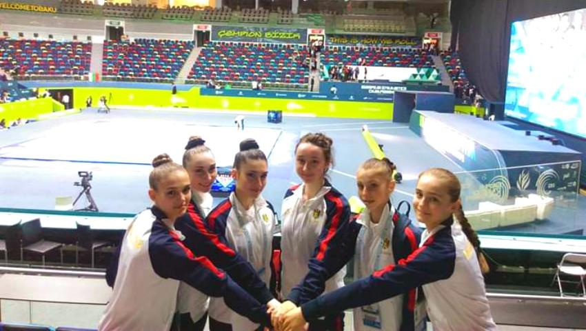 Foto: Fetițele de la Școala Sportivă nr. 1 din Bălți ocupă locuri de frunte la concursurile internaționale de gimnastică aerobică