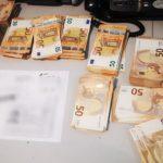 Foto: Un moldovean care transporta 50.000 de euro într-o valiză, a rămas fără bani la Aeroport