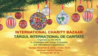Clubul Internațional al Femeilor din Moldova organizează cea de-a 23-a ediție a Târgului Internațional de Caritate