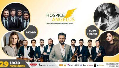 Doar câteva zile ne mai despart de concertul aniversar Hospice Angelus!